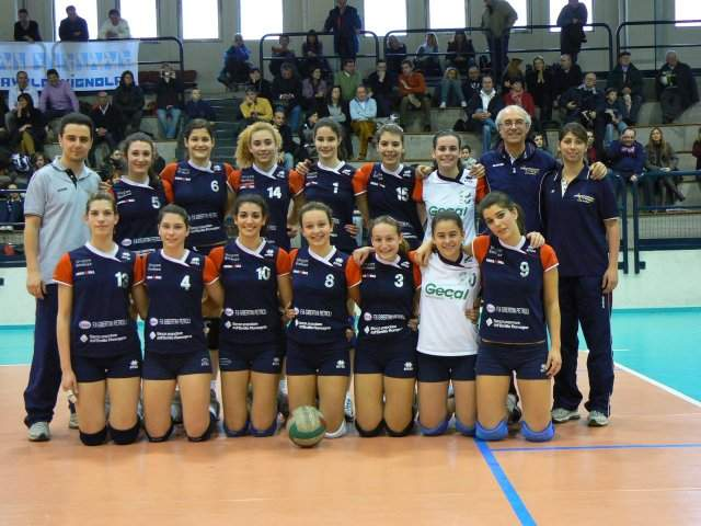 ANDERLINI & SASSUOLO VOLLEY - Campione 2008/2009 Under 16F